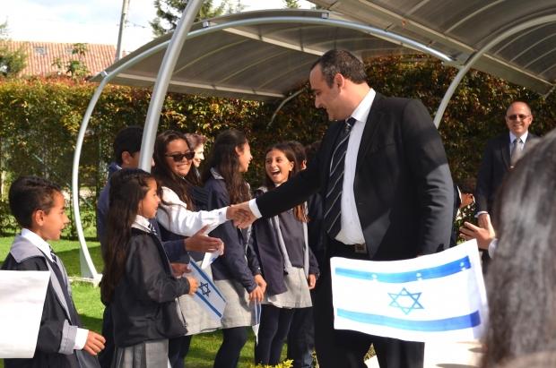 Visita de la EMBAJADA DE ISRAEL