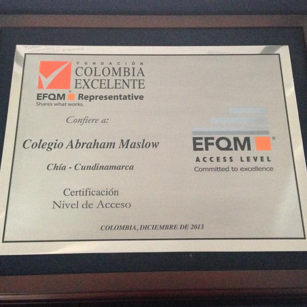 Certificación de Calidad EFQM
