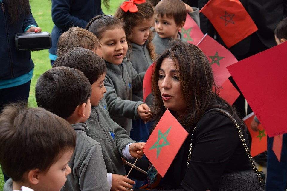 Compartimos el honor de la visita de la Embajadora del Reino de Marruecos Sra. Farida Loudaya