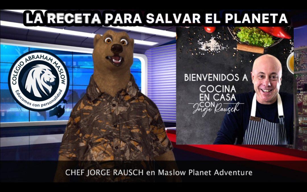 LA RECETA PARA SALVAR EL PLANETA: