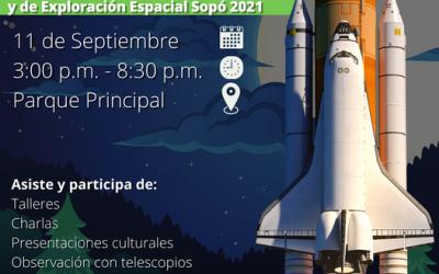 COLEGIO ABRAHAM MASLOW INVITADO AL PRIMER FESTIVAL DE ASTRONOMÍA EN SOPÓ 2021.